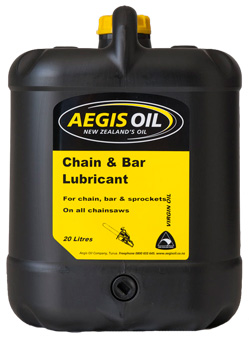 Chain and Bar Lubricant - Aegis Oil new Zealands Oil