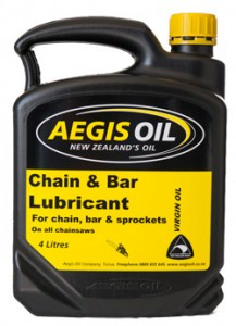 Chain and Bar Lubricant 4 Litres - Aegis Oil New Zealands Oil