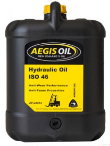 Hydraulic Oil ISO 46 20 Litre - Aegis Oil New Zealands Oil