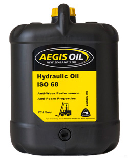 Hydraulic Oil ISO 68 20 Litre - Aegis Oil New Zealands Oil