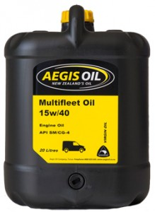 Multifleet 15w/40 Engine Oil - Aegis Oil New Zealands Oil