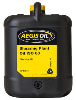 Shearing Plant Oil ISO 68 - Aegis Oil New Zealands Oil