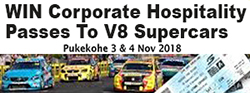 Win V8 Supercar Hospitality Tickets
