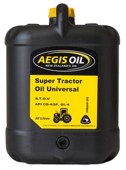 Super Tractor Oil Universal STOU - Aegis Oil New Zealands Oil