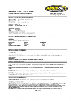 msds – Engine Coolant – Cook Islands Only